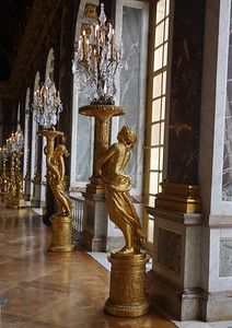 Versailles - Hall of Mirrows