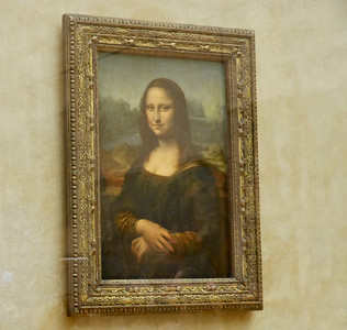 The Louvre - Leonard de Vinci  - Mona Lisa