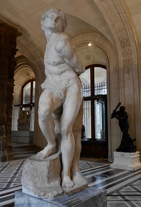 The Louvre - Michelangelo - Rebellious Slave