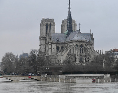 We walked to Norte Dame.