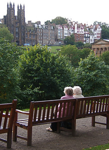 Relaxing in Edinburgh