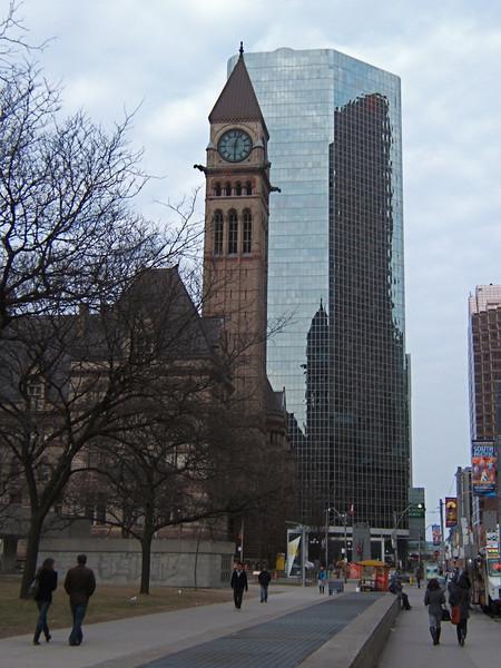Downtown on Queen Street