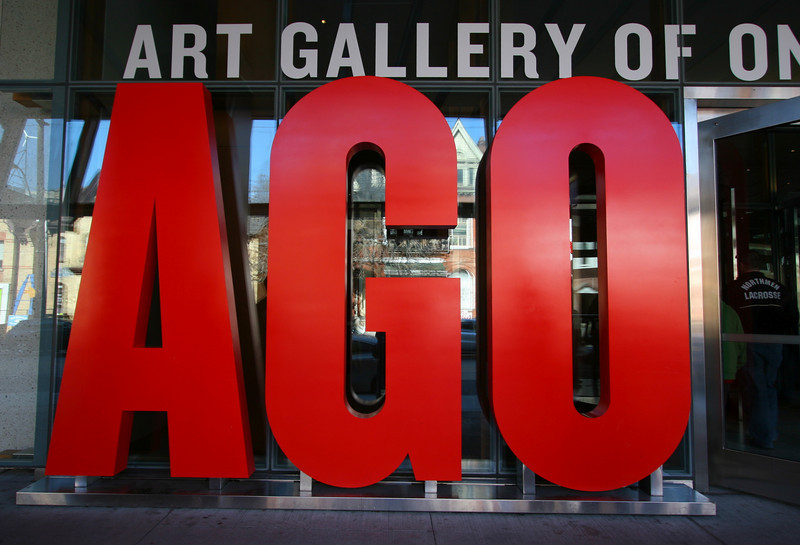 The Art Gallery of Ontario (AGO) is also first class