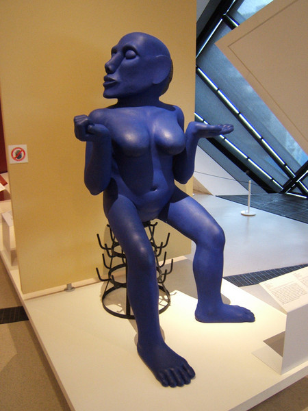 Blue Lady in the ROM
