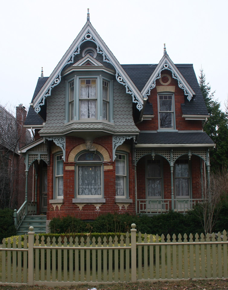 There are hundreds of Victorian houses in the neighborhood of Cabbagetown