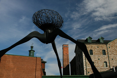 Distillery District sculpture
