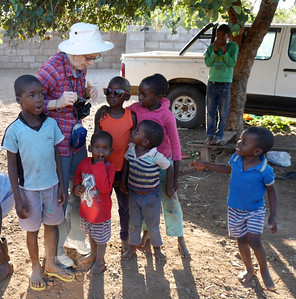 We visited Mabele Village and interacted with the kids.