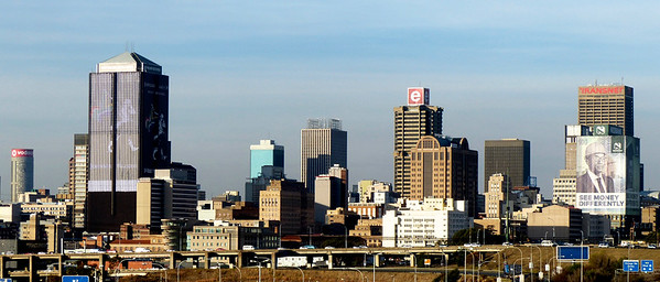 We had a quick visit to Johannesburg in the country of South Africa.  It is a huge city.
