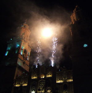 Lights of the Cathedral, Morelia