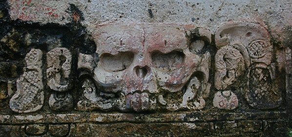 The Temple of the Skull is named after this carving.
