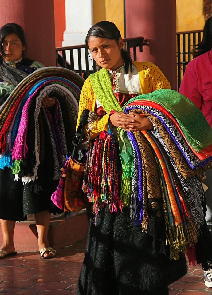 Vendors near the main Plaza
