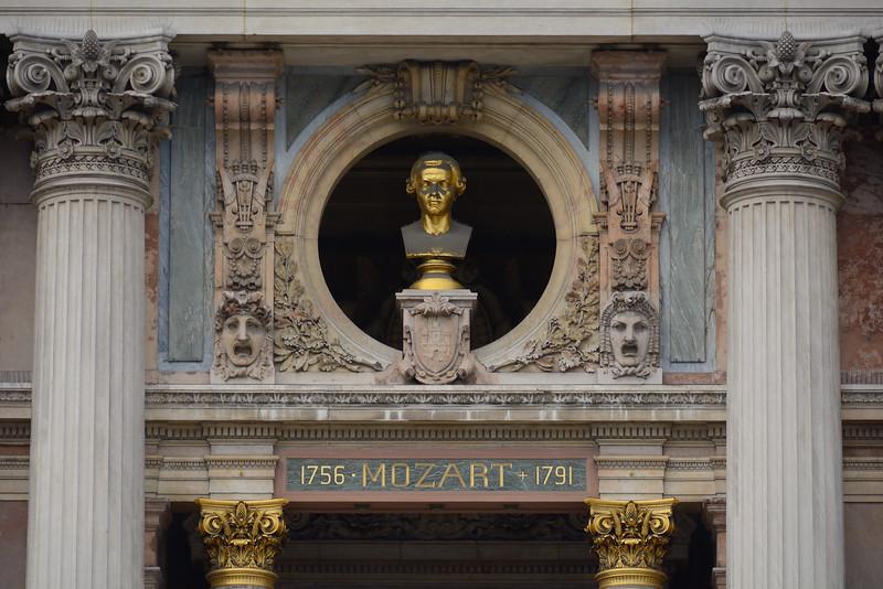 Bronze Bust of Mozart