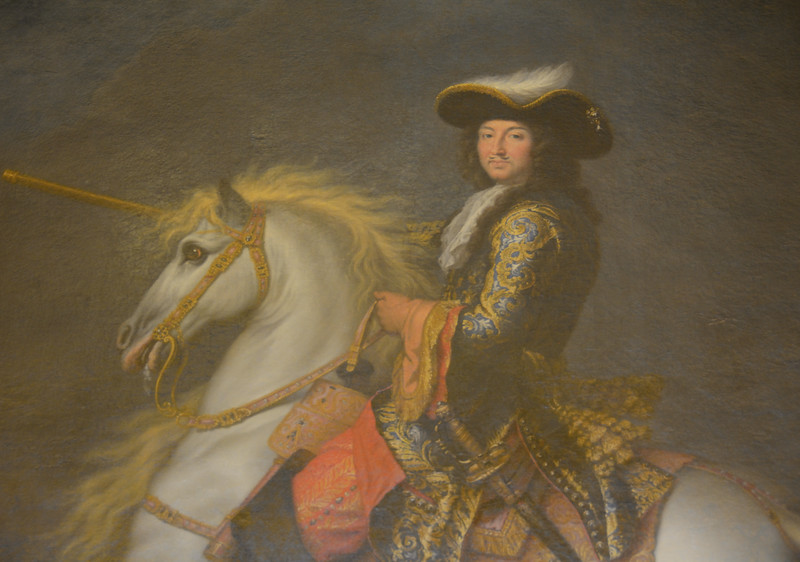 Louis XIV, King of France and Navarre, on Horseback