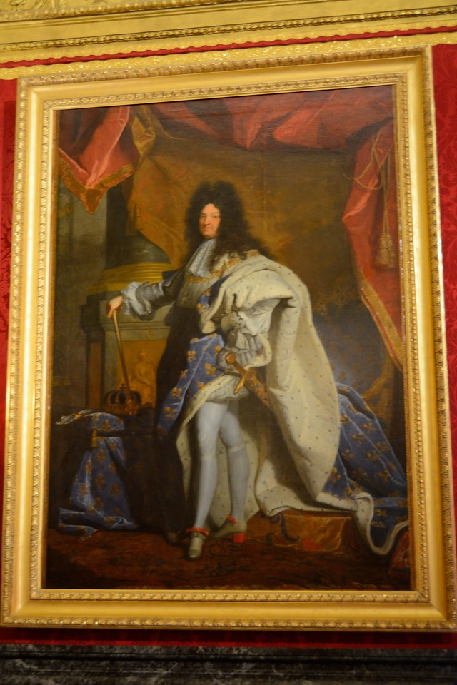Painting of Louis XIV