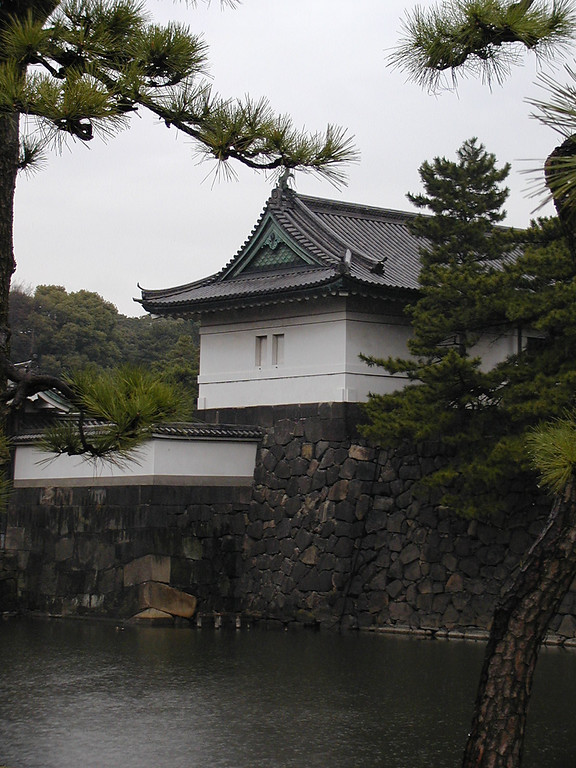 GuardHouse on Moat at the Imperial Palace