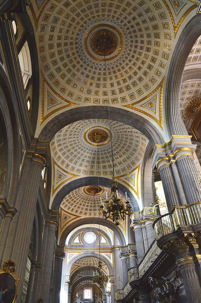 Ceiling of Puebla Cathedral