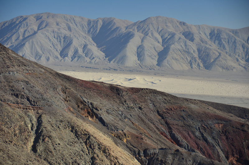 View of Panamint Dunes