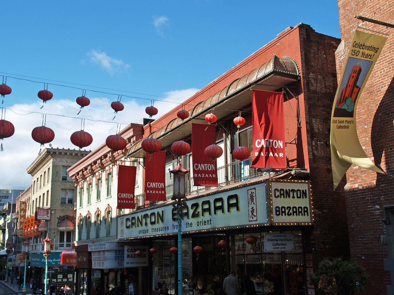 Storefront in Chinatown