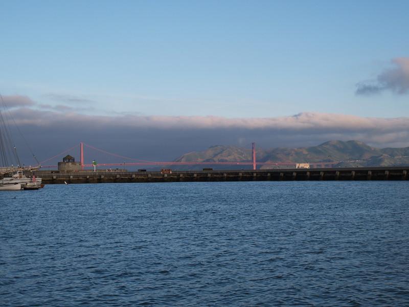 Golden Gate Morining Light