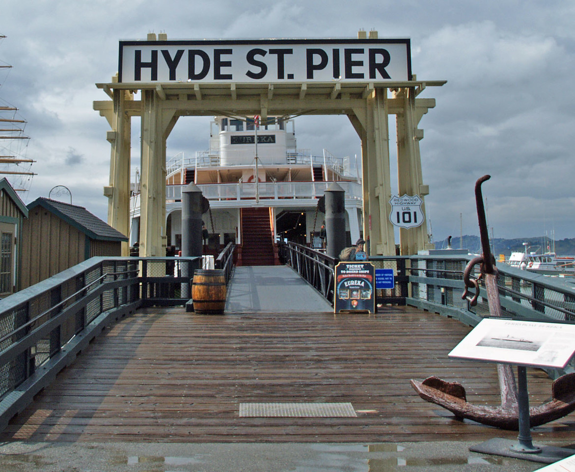 The Hyde Street Pier is a historic ferry pier located on the northern waterfront of San Francisco, California