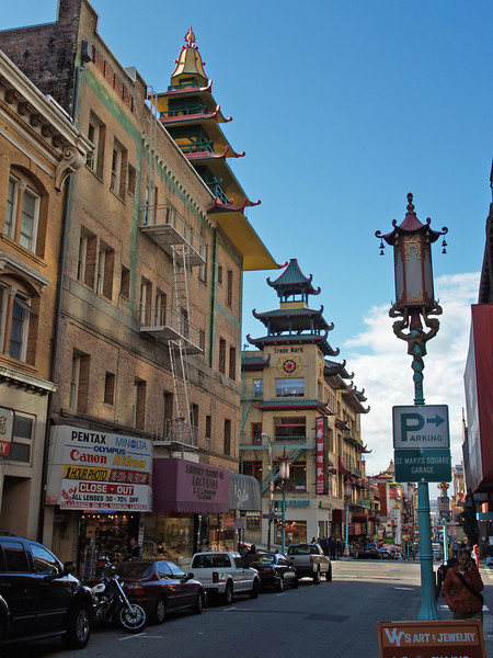 Pagoda Style in Chinatown