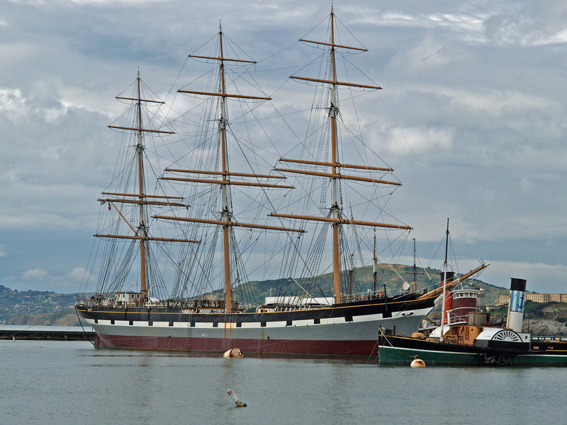 The Balclutha was built in 1886 by Charles Connell & Co. Ltd., of Glasgow in Scotland