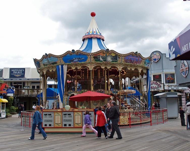 Pier 39 Merry Go Round