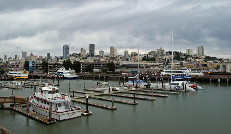Boat Docks near Pier 39