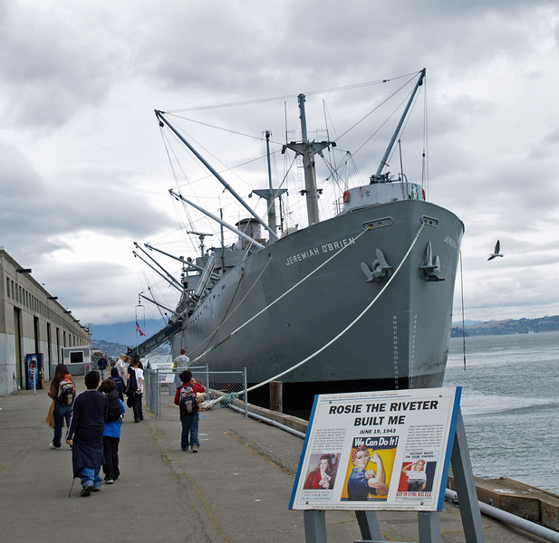 SS Jeremiah O'Brien is a Liberty ship built during World War II and named for American Revolutionary War ship captain Jeremiah O'Brien (1744–1818)