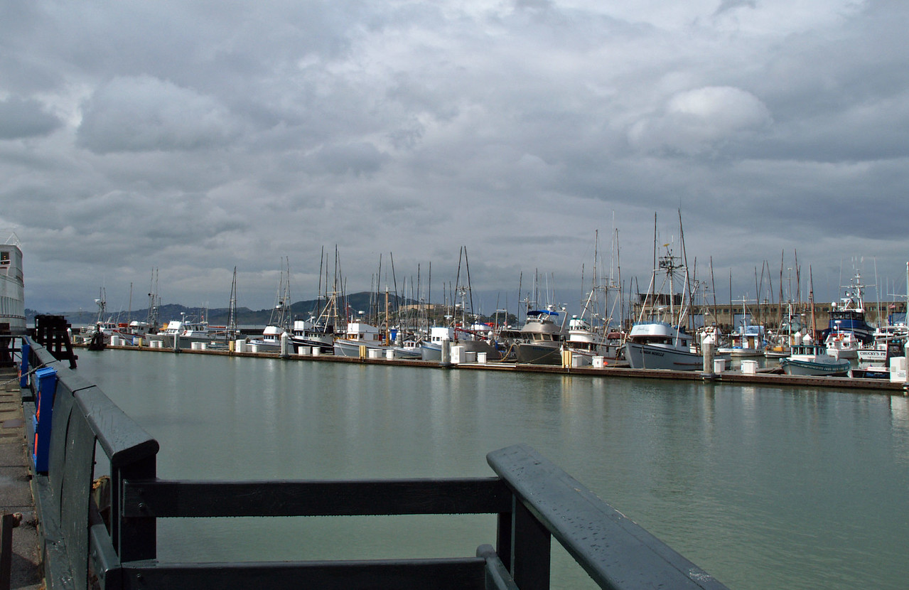 Marina View from Hyde Street Pier