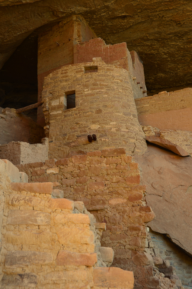 Cliff Palace Structures