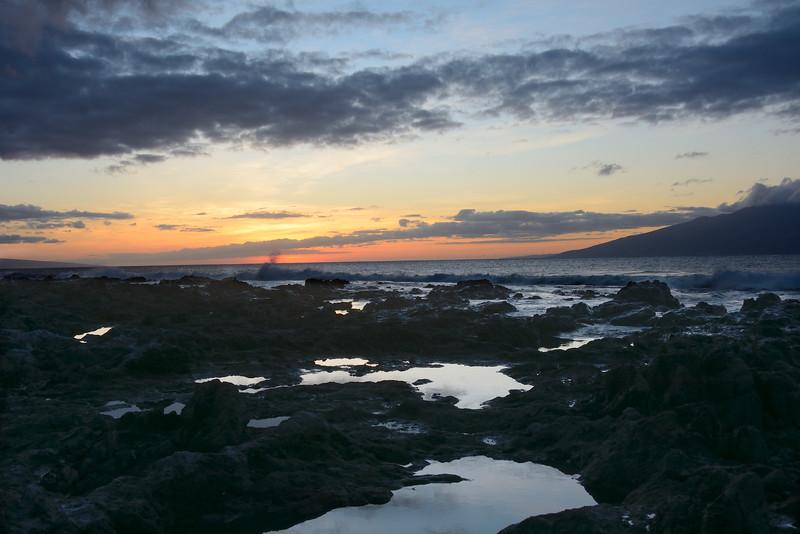 Sunset from Napili