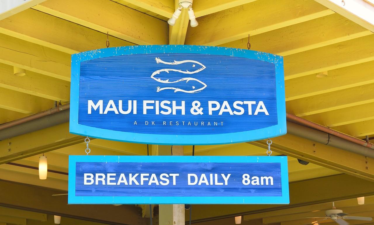 Maui Fish & Pasta