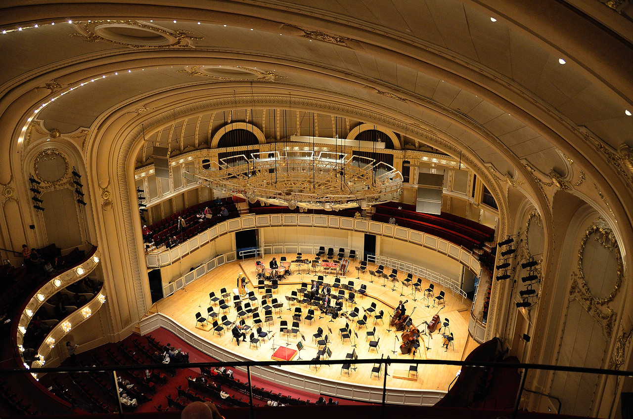 Auditorium for the Chicago Symphony