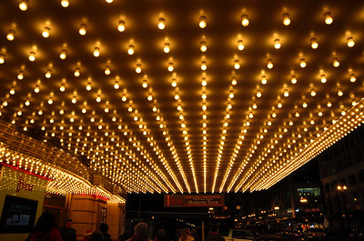 Chicago Theatre Marquee Lights