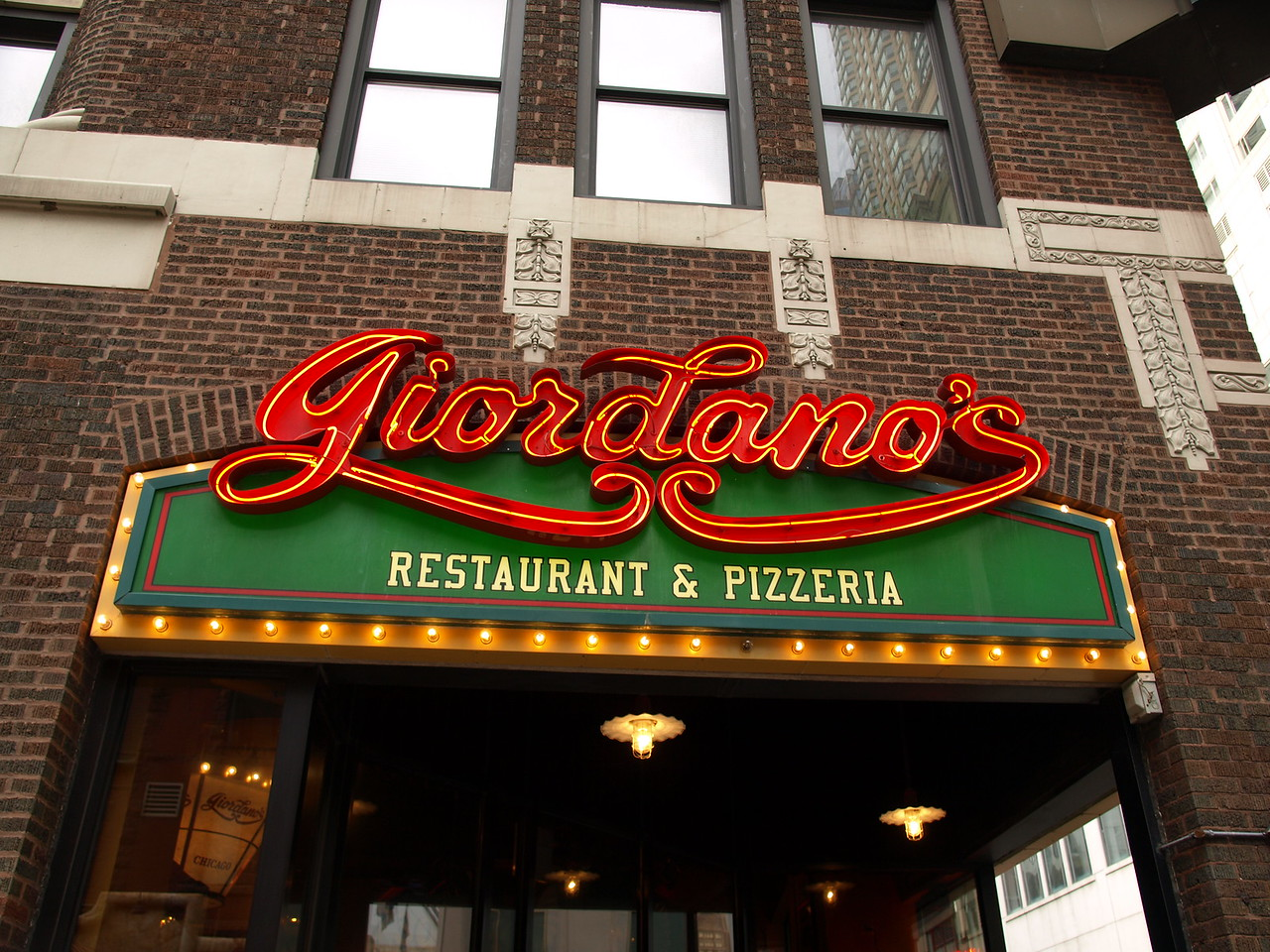 Giordano's Yumm! Great Deep Dish Pizza!
