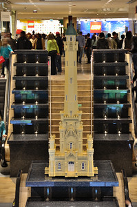 Lego model of the Old Water Tower
