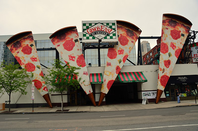 Biggest pizza slices that I have ever seen
