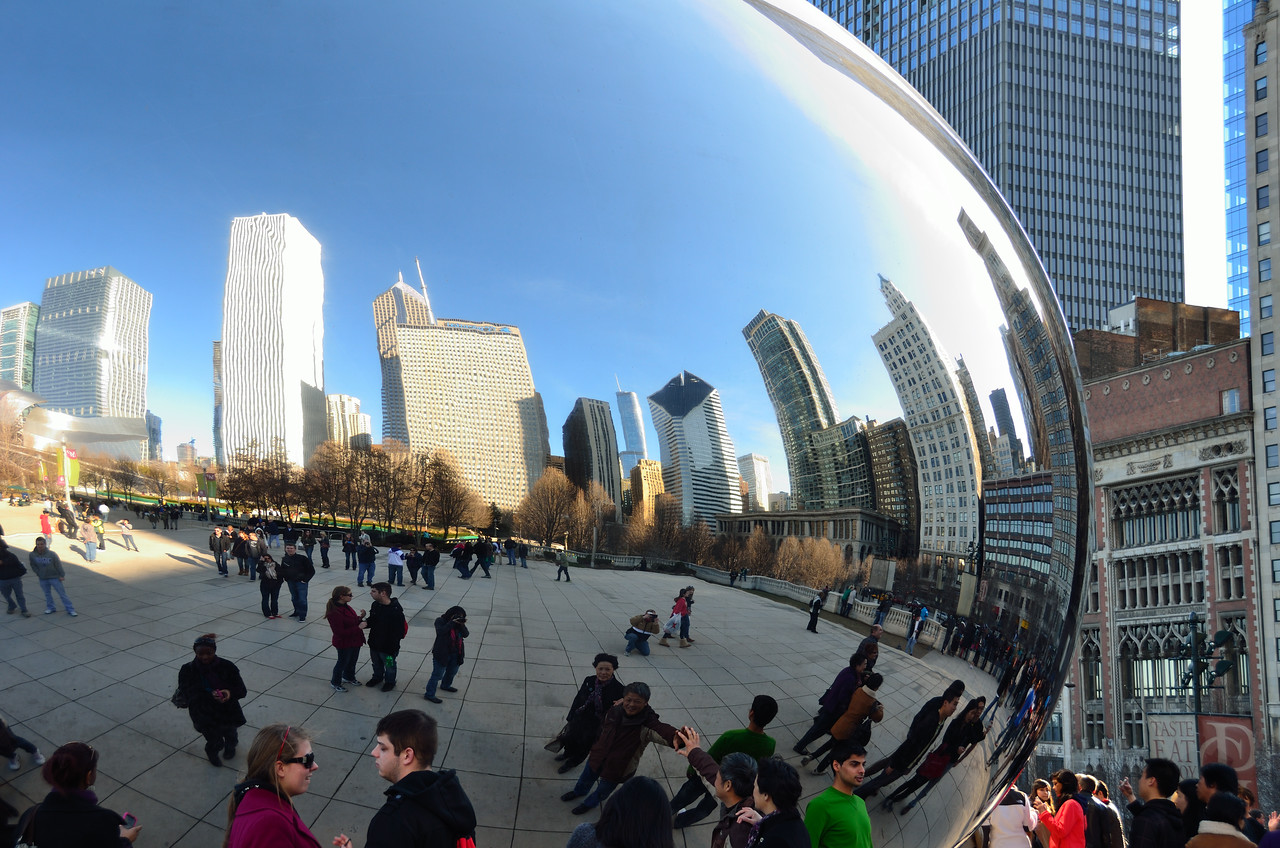 "A trip to Chicago now includes ""the egg"" as a must see."