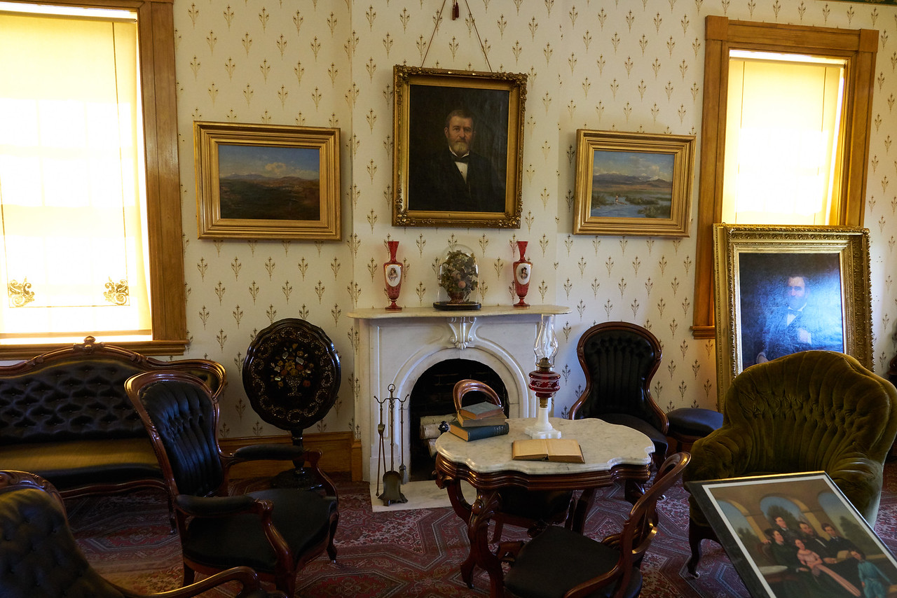 Living Room ( Parlor) of Ulysses S. Grant Home