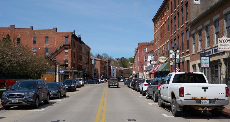 Downtown Galena Illinois
