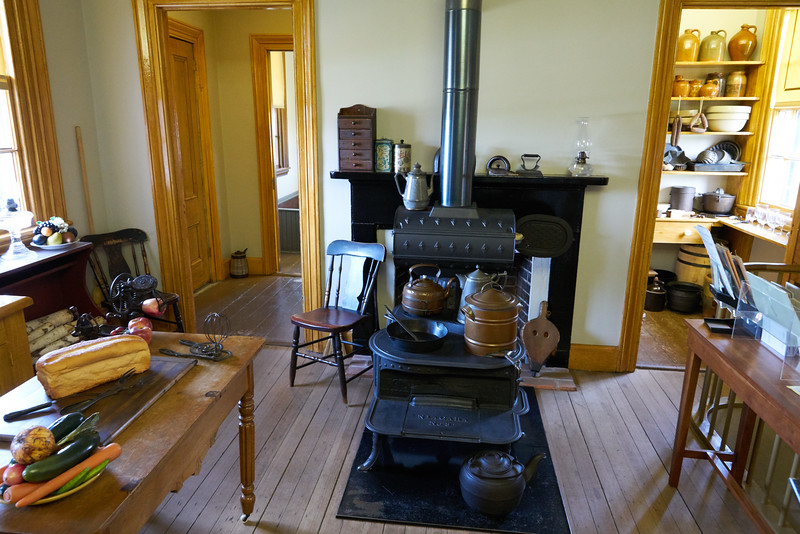Kitchen of the Grant Home in Galena Illinois.