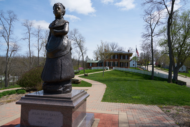 Statue of Julia Dent Grant, First Lady