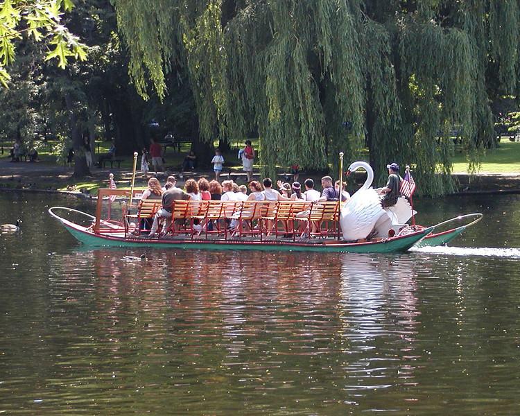 Boston Commons Swan Boat