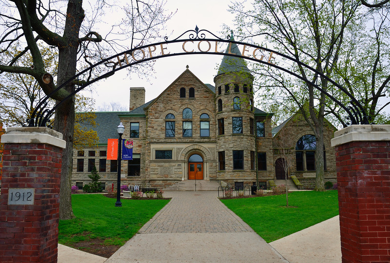 Hope college was opened in 1851 as the Pioneer School by Dutch immigrants four years after the community was first settled. The first freshman college class matriculated in 1862, and Hope received its state charter in 1866. It has been historically associated with the Reformed Church in America, and it retains a conservative Christian atmosphere.