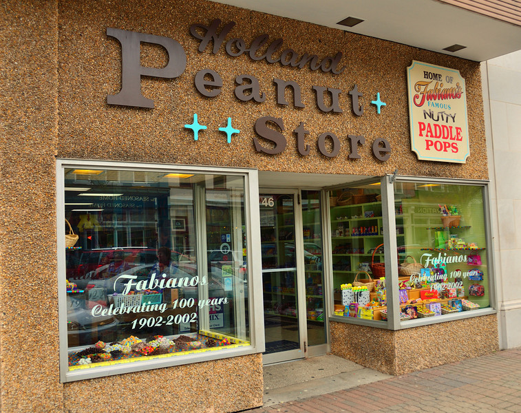 Paul Fabiano, opened the Holland Peanut Store in 1955.
