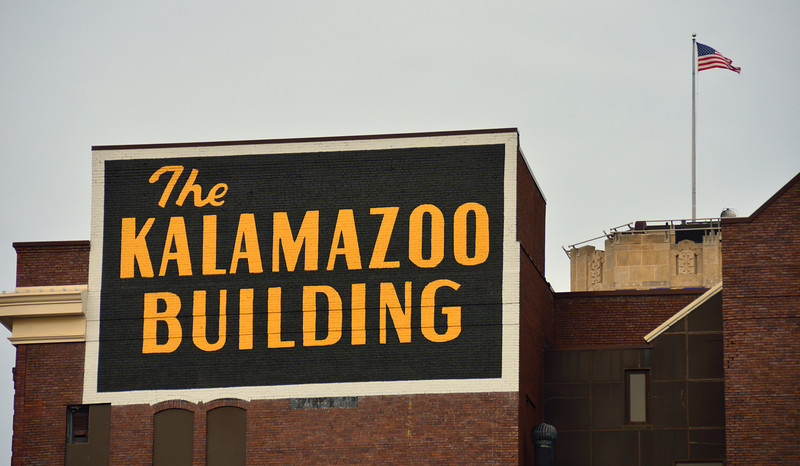 Kalamazoo's First Skyscraper built in 1907.