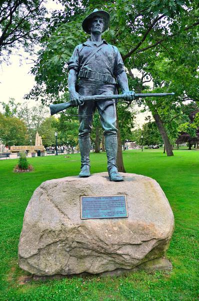 Spanish War Veterans Monument