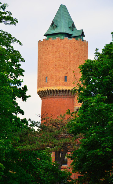 Visible from almost any approach to the city of Kalamazoo is a structure shrouded in mist, myth and mystery...the water tower on the grounds of the Kalamazoo Psychiatric Hospital.