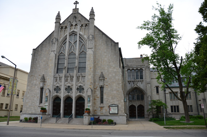 First United Methodist Church.  There were eight members when this Church was first started.